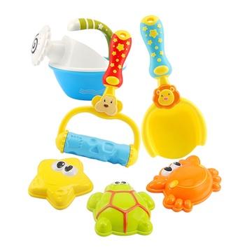 娃娃博士 儿童夏日沙滩玩具宝宝卡通动物沙滩玩具海边