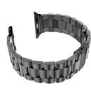 Apple Watch表带 三珠精钢表带 男苹果智能手表iWatch表带(锖色 42mm)