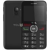 TCL 121 移动联通2G老年人手机 双卡双待 大字体 支持语音播报 收音机外放(黑色)