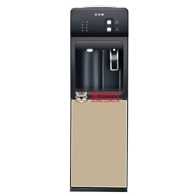 温热 冷热冰热家用 开水机 5秒出热水柜式饮水机安全儿童锁(黑冷热)