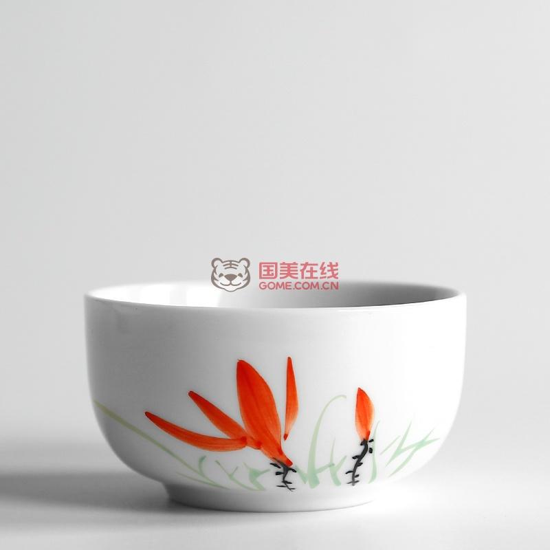 中国风手绘茶杯主人杯