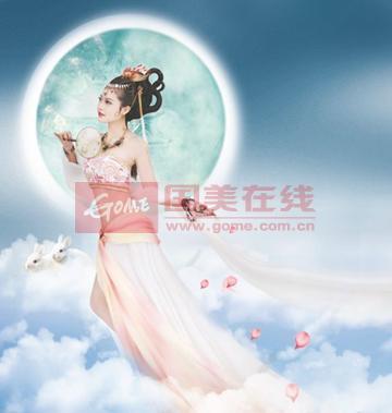 中秋节手抄报嫦娥画图片大全 中秋节手抄报 已解决 搜搜图片