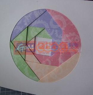 小学手工制作圆形灯笼