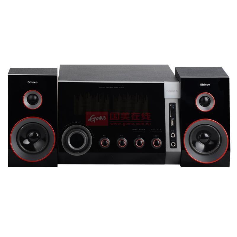 新科(shinco)sh-d230迷你组合音响(黑色)图片展示