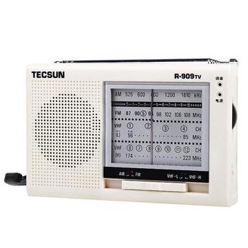 德生(tecsun)r909tv收音机(白色)