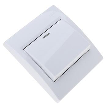 灵动/(1)灵动系列单控开关插座采用模块化结构