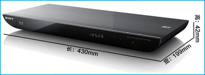 索尼(sony)bdp-s49 蓝光 dvd (3d blu-ray disc播放 2d转3d功能 精锐