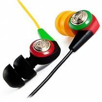 美国潮牌(Aerial 7 )NEO系列Dark Rasta潮流耳机入耳式耳机(黑黄色)(兼容苹果iPod ,iPhone  )