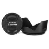 雷摄(LEISE)佳能67mm遮光罩&镜头盖套装(适用佳能67口径镜头)