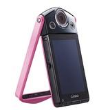 卡西欧(CASIO)EX-TR300数码相机 蜜桃粉  自拍神器 美颜 超广角相机 特价