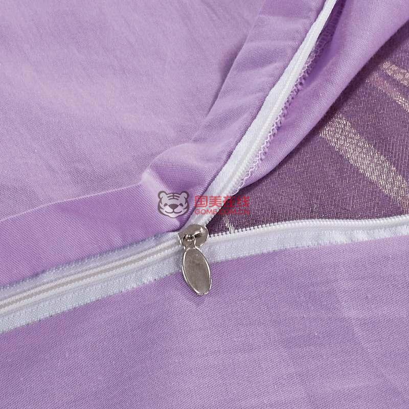 逸驰家纺伊斯坦堡仿丝棉欧式大提花(浅紫色)