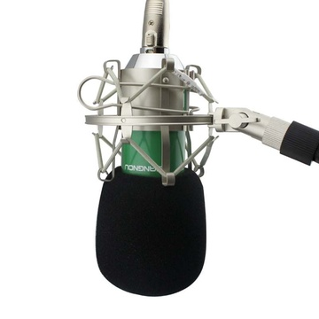 ktv演唱专用 专业电容有线麦克风 网络k歌 翻唱 电脑话筒(送接口转换
