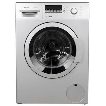 博世(BOSCH) XQG75-20268(WAP20268TI) 7.5公斤 变频滚筒洗衣机(银色) 智能系统 个性定制