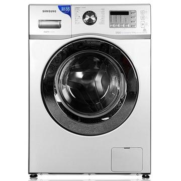 三星(SAMSUNG) WF602U2BKSD/SC 6公斤 变频节能滚筒洗衣机(银色) 泡泡净 智能变频