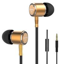 爱谱王(∧pking)IP-E231V超重低音可线控耳机(金色)