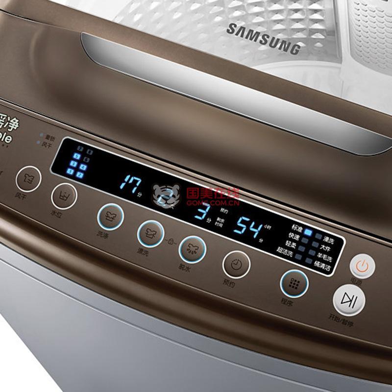 国美自营 三星洗衣机xqb80-n98i/sc