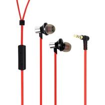 纽曼(Newmine)XK05防缠绕音乐手机耳机(红色)