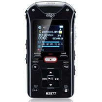 爱国者(aigo)R5577录音笔(黑色)(8G)50米远距离录音 音质佳