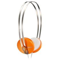 宾果(Bingle)i330耳机头戴式便携耳机 桔色(不锈钢头带 双向拉伸设计 3.5mm标准镀金插针 音质传输更有保障)