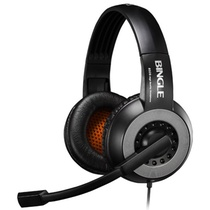 宾果(Bingle)B326头戴式耳机麦克风(黑色)