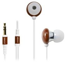 宾果(Bingle)i803 耳机入耳式耳机(棕色)(闪亮外壳采用的是经过抛光处理,而内部入耳部分则为金属制成,稳固光亮)
