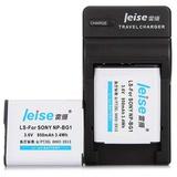 雷摄(LEISE)NP-BG1/FG1 数码相机/摄像机电池/便携充电器组合套装 适用索尼:H9/H7/H50/H55/T100/T20/HX7V